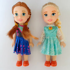 "NEW Playset Frozen Princess Elsa&Anna 7"" Doll Figures 2PCS Birthday Gift"