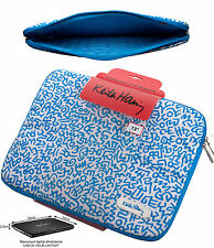 Macbook Pro Sleeve 13 Inch Laptop 13.3 Keith Haring Designer Canvas Case Bag