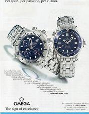 AUTO995-PUBBLICITA'/ADVERTISING-1995-OMEGA SEAMASTER DIVER