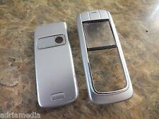 OEM front cover posteriore per Nokia 6020 6021 NUOVO ARGENTO SILVER HOUSING Custodia Cellulare