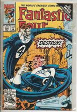 Marvel Comics Fantastic Four #366 July 1992 Infinity War NM-