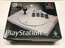 PLAYSTATION PS1 PS2 ASCIIWARE FIGHTING STICK Specialized Joystick Controller