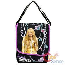 Disney Hannah Montana Messenger Bag Shoulder Bag -Black Purple Jewelry