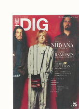 The Dig Japan No.23 2001 Nirvana Kurt Cobain Dave Grohl Ramones