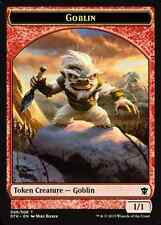 Goblin  1/1 TOKEN x4 EX/NM Dragons of Tarkir MTG Magic  Cards Red Token