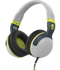 Skullcandy Hesh 2 Supreme Sound Over-Ear Cuffie mic1+ Remote Grigio/Hot Lime