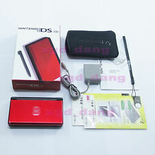 New Nintendo DS Lite HandHeld console System Black Red+gift