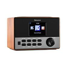 INTERNETRADIO WIFI RADIO WECKER MP3 MUSIKANLAGE WLAN SENDERSPEICHER BOX BRAUN