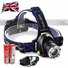 12000LM XM-L T6 LED Headlight Head Light Headlamp Torch Rechargeable 18650
