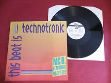 "MC B. - This Beat Is Technotronic, GER 1990,12"", Vinyl: m-"