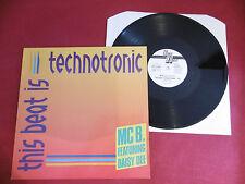 "MC B. - This Beat Is Technotronic, GER 1990,12"", Vinyl: m-"