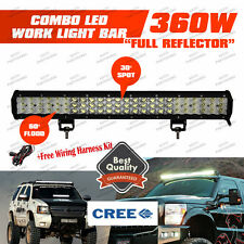 "CREE 3 Rows 405W 26"" LED Work Light Bar FLOOD SPOT Offroad Pickup SUV 4WD Truck"