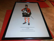 1763 Officer,77th Montgomery Highlanders  By P H Smitherman Framed Print