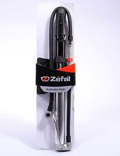 Zefal Profil Mini RG01 Bicycle Folding Floor Pump with Gauge, 160 PSI