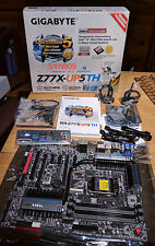 Gigabyte Z77X-UP5 TH LGA 1155 Intel Motherboard with Dual Thunderbolt