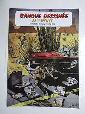 Carte postale Banque dessinée 2012