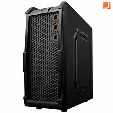 Nemesis SV GT10BB Black Gaming Mid ATX Computer PC Case - USB 3.0 - 2x 12cm Fan