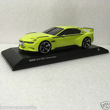 BMW Genuine 3.0 CSL  Hommage Collection  diecast model 1:18 scale