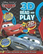 Disney Pixar Cars Read And Play Pack (Disney 3d Puzzle Playpack), New, Disney Bo