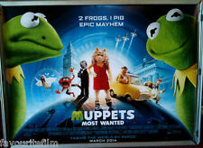 Cinema Poster: MUPPETS MOST WANTED 2014 (Quad) Ricky Gervais Ty Burrell Tina Fey