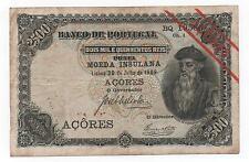 AÇORES AZORES PORTUGAL 2500 REIS 1999 PICK 8 B LOOK SCANS