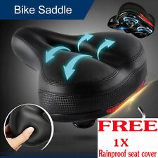 Comfortable Wide Big Bum Bicycle Gel Cruiser Extra Sporty Soft Pad Saddle Seat J