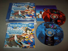 SKIES OF ARCADIA - Sega Dreamcast - UK PAL - VG COND & Complete RPG
