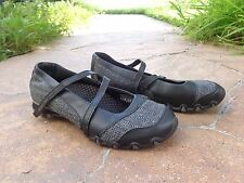 SKECHERS BIKERS~AMAZING WALKING SHOES~BLACK~GREAT CONDITION~WOMEN'S SIZE 7.5