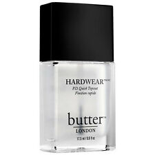 New Sealed Full Size Butter London Hardwear P.D. Quick Topcoat 0.6 fl oz
