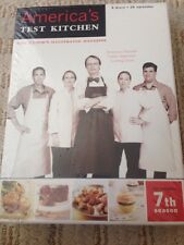 America's Test Kitchen COMPLETE 7TH SEASON DVD BOX SET BRAND NEW F/S