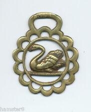 SWAN  vintage horse brass (5012)