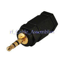 2.5mm Stereo Male to 3.5mm Stereo Headset Female jack Straight Adapter Connector