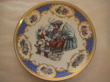 "RERE LE CHAT BOTTE ""PUSS IN BOOTS"" PLATE, JEGOU FRANKLIN MINT, PREMIERE EDITION"