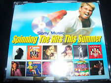Spinning The Hits (Shane Warne) Promo CD Celine Dion Marish Carey George Michael