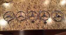 MERCEDES BENZ Hood & Trunk Ornament LOT of 5 Total All Different Styles OEM MINT