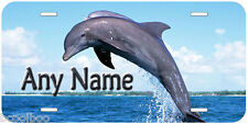 Dolphin Personalized Any Name Aluminum Car License Plate