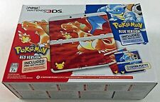 Pokemon 20th Anniversary New Nintendo 3DS System Red Blue Brand New!