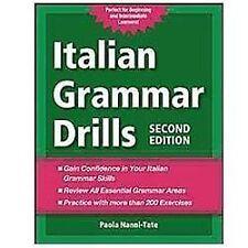 Italian Grammar Drills by Paola Nanni-Tate (2012, Paperback)