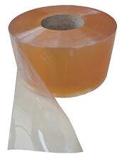 PVC Streifen Lamellen Vorhang 200x2mmx50mtr glass-klare Rolle