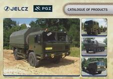 JELCZ MILITARY TRUCKS 2016 4x4 6x6 8x8 POLISH ARMY BROCHURE PROSPEKT CATALOGUE
