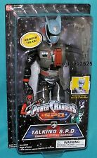 Power Rangers SPD Shadow Ranger Talking 12 Inch New