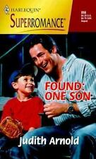 Found - One Sone by Judith Arnold (1999, Paperback)