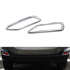 ABS Chrome Rear Fog Light Lamp Frame Cover Trim For Toyota RAV4 2013 2014 2015
