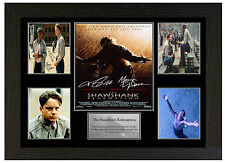 SHAWSHANK REDEMPTION - A3 SIGNED FRAMED COLLECTORS PICTURE