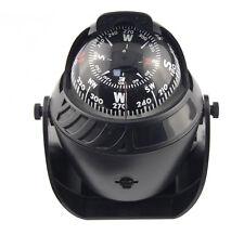 12 Volt Red Illuminated Pivoting Sea Marine Compass For Car Auto SUV Truck Boat