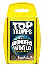 Top Trumps - The Wonders of the World (Includes Bonus Game Treasure Hunt)