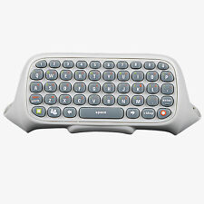 White Keyboard Live/Text Messenger Chat Pad for Microsoft XBOX 360 Controller