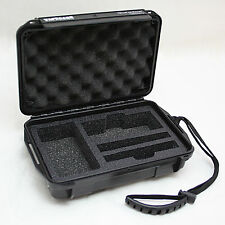 NEW 2017 QSOL Arizer Solo Hard Case Black (Air Tight) - FREE SHIP - Limited Qty