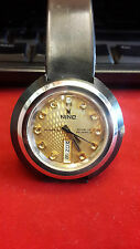 NINO AUTOMATIC INCABLOC 25 JEWELS 6 HOUR DAY DATE SWISS RARE VINTAGE WATCH