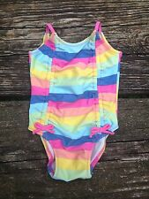 NWT Old Navy Infant Baby One Piece Stripe Bathing Swim Suit  3-6 Months
